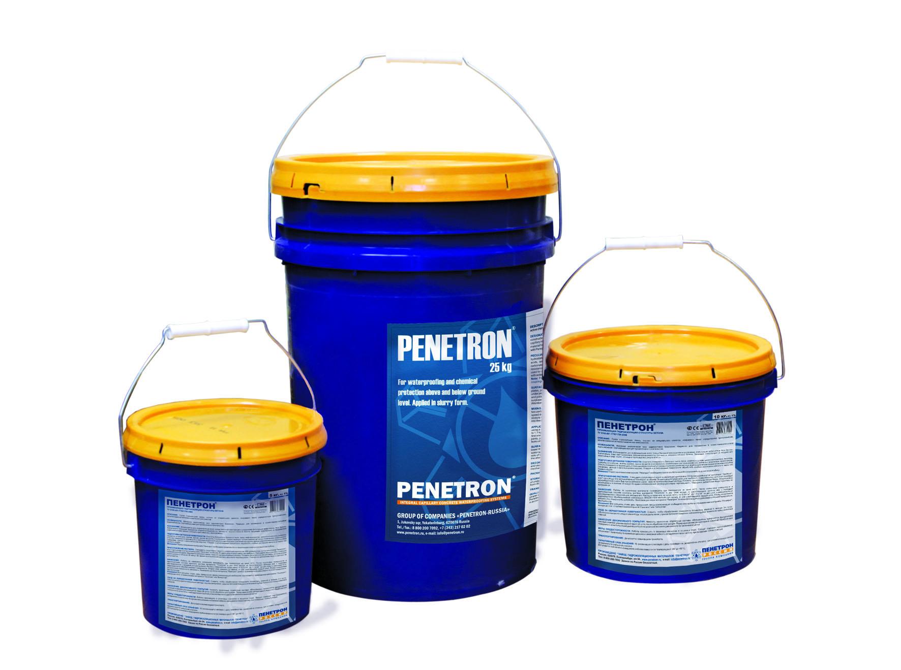 Гидроизоляция пенетрон расход на м2 цена продажа гидрофобизаторов